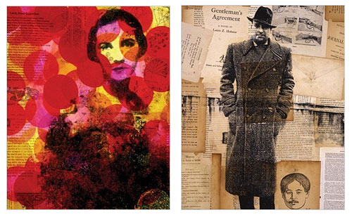 Collage Portraits Prints