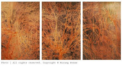 """Triptych """"Life II"""""""