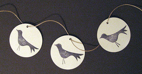 Birdy Gift Tags